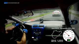 Battle Honda Civic TypeR EP3 x Nissan GT-R ... Nürburgring No...