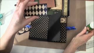 Part 9 How to build a photo mini album tutorial Welcome to part 9.In this video we are making the flap on side 6, and make some pockets and tags. I have use ...