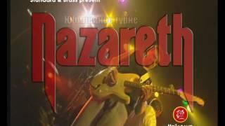 """פרסומת טלוויזיה להופעה של להקת הרוק """"נאזארט"""""""