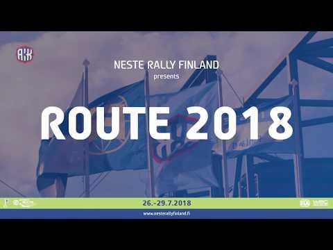 Rally Finlandia - Itinerario