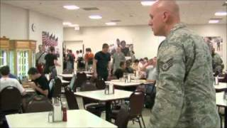 Video Air Force BMT Zero week lunch MP3, 3GP, MP4, WEBM, AVI, FLV September 2018