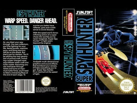 Super Spy Hunter (Battle Formula) NES Gameplay Longplay (Полное прохождение)
