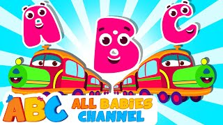 Learn ABC with Train | ABC Train Song | ABC Song Nursery Rhymes By All Babies Channel