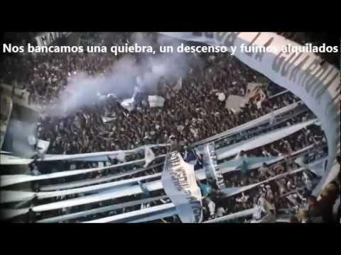 RACING CLUB DE PENDEJO TE SIGO - La Guardia Imperial - Racing Club - Argentina - América del Sur