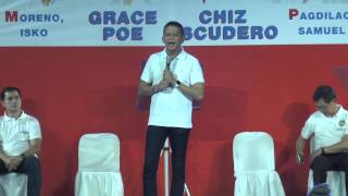 Escudero: We will start fulfilling the dreams of every Filipino