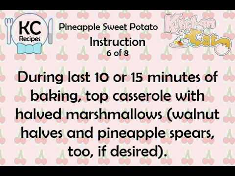 Video of KC Pineapple Sweet Potato
