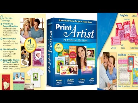Print Artist Platinum 24 Preview