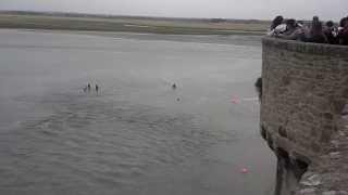 Mont Saint-Michel France  city pictures gallery : Mont Saint Michel Tide Rescue
