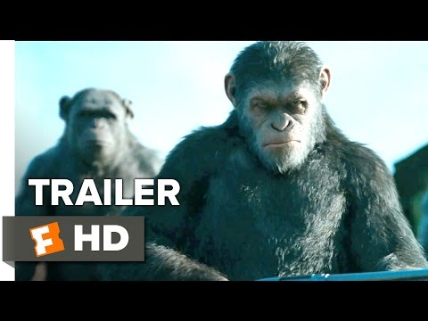 War For The Planet Of The Apes Official Trailer 1 (2017) -  Andy Serkis Movie