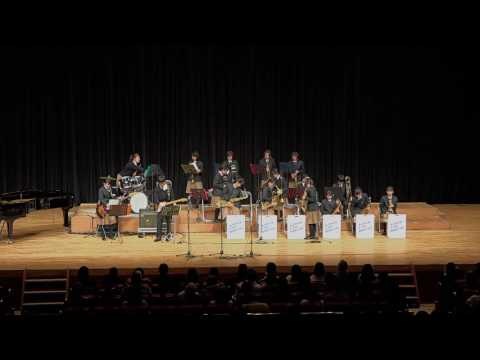 たかつきスクールジャズコンテスト「関西大学北陽中学校」