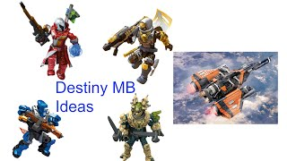 The stunning new Mega Bloks Destiny line has just dropped and we know there is more to come. So here are some ideas!