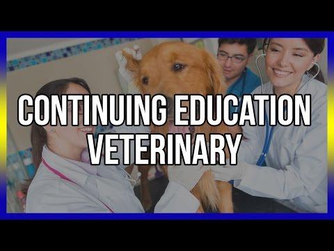 Continuing Education Veterinary - Free Online Veterinary CE Below (видео)