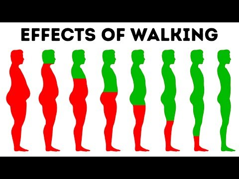 What Will Happen to Your Body If You Walk Every Day (видео)