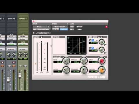 Mix A Fatter Snare Drum With Compression - TheRecordingRevolution.com