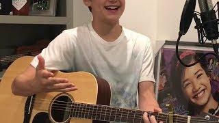 Asher Angel singing Andi Mack theme song  28 May 2017