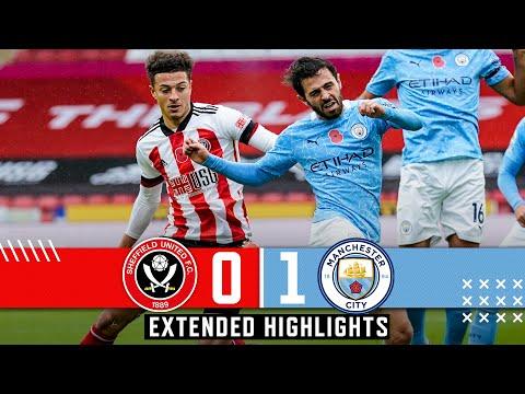 Sheffield United 0-1 Man City   Extended Premier League highlights   Long range Walker goal