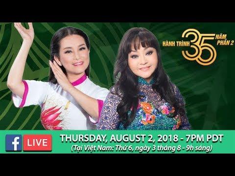 Livestream với Hương Lan & Hương Thủy - August 2, 2018 - Thời lượng: 1 giờ, 10 phút.