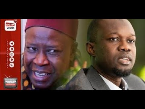 Ousmane Sonko rend visite à Serigne Mansour Sy Jamil видео