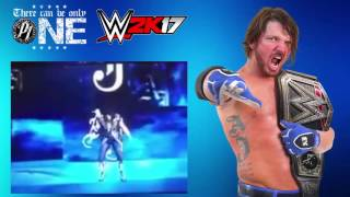 WWE 2K17 - AJ Styles *OFFICIAL* Entrance LEAKED!! This is WWE 2K17 - AJ Styles *OFFICIAL* Entrance LEAKED!! It has been leaked by a couple of youtubers now b...