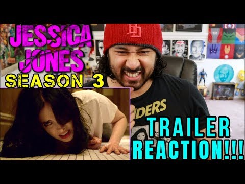 JESSICA JONES | Season 3 | TRAILER REACTION!!!