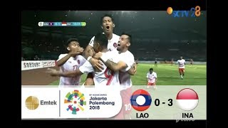Video Full Highlights Sepak Bola Laos (0) VS (3) Indonesia | Asian Games 2018 - 17/08/2018 MP3, 3GP, MP4, WEBM, AVI, FLV Maret 2019