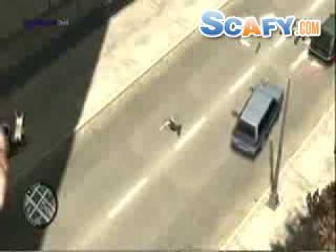 Funny commercials GTA4 Funny Accidents and Bloopers #3 Scafy.com