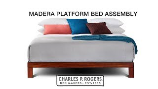 Madera Platform Bed Assembly video