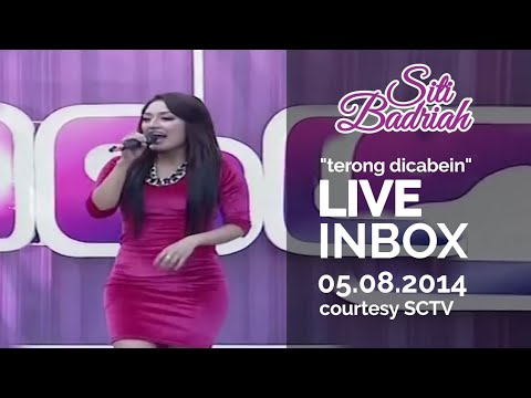 Video SITI BADRIAH [Terong Dicabein] Live At Inbox (05-08-2014) Courtesy SCTV download in MP3, 3GP, MP4, WEBM, AVI, FLV January 2017