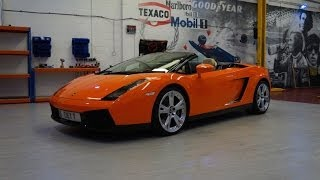 Lamborghini Gallardo spyder wrapped by pw pro