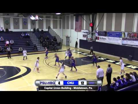 WBB: Penn State Harrisburg vs. Christopher Newport Highlights