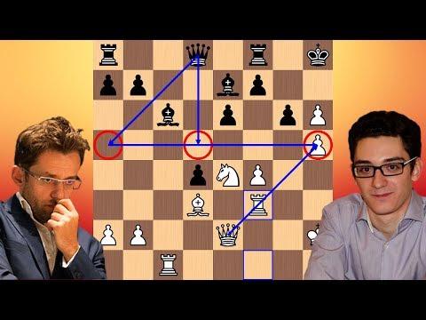 Full Steam Ahead | Levon Aronian vs Fabiano Caruana | 2018 Candidates Chess Tournament (видео)