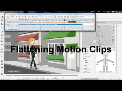 CrazyTalk Animator 2 Tutorial – Basic Timeline Editing