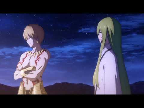 """Gilgamesh to Enkidu: """"I'm not alone""""   Fate/Grand Order Absolute Demonic Front: Babylonia"""