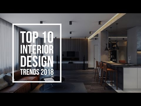 Interior Design Trends 2018 (видео)