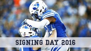 Football Signing Day 2016