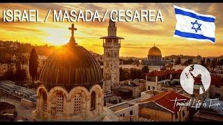 Jerusalem Israel  city photos gallery : ISRAEL - Jerusalem / Masada / Caesarea - HOLY LAND (4K)