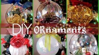 DIY Christmas Ornaments - YouTube
