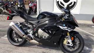 6. 2018 BMW S 1000 RR Black Storm Metallic at Euro Cycles of Tampa Bay