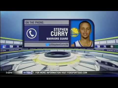 Video: Stephen Curry is excited for NBA All-Star Weekend in NYC