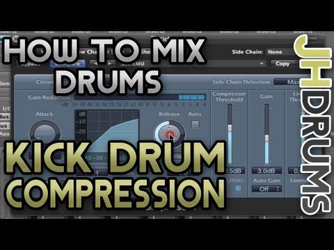 Kick Drum Compression – How To Mix Drums (Part 11)  | by JHDrums