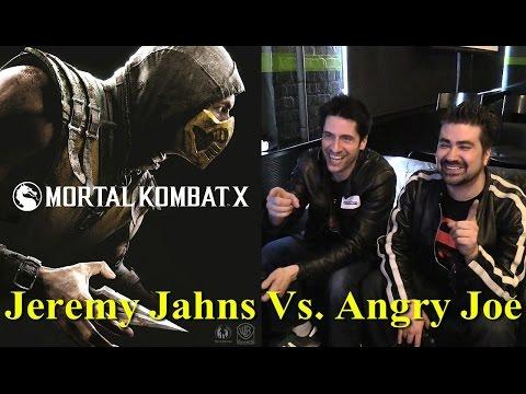Mortal Kombat X – JeremyJahns vs AngryJoe!