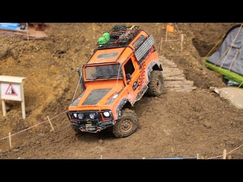 RC Land Rover Scale & Crawler Parcours - Erlebniswelt Modellbau Kassel
