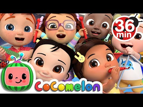 The More We Get Together 2 + More Nursery Rhymes & Kids Songs - CoCoMelon - Thời lượng: 36 phút.