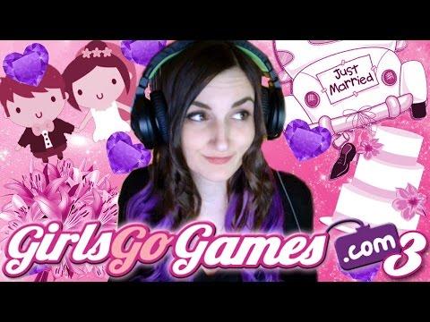 Preparing for MY WEDDING!! - Girls Go Games #3 (GGG Flash Games) (видео)