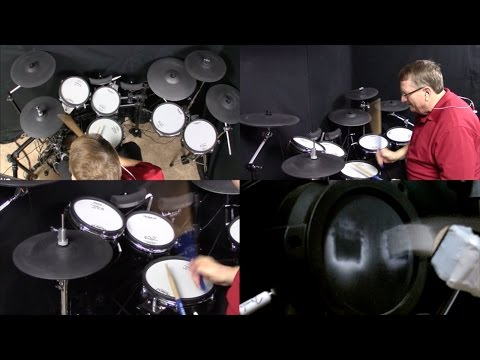 Tool VICARIOUS drum cover by Drum Professor... Scott Avery