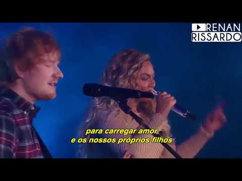 Video Ed Sheeran - Perfect Duet [com Beyoncé] (Tradução) download in MP3, 3GP, MP4, WEBM, AVI, FLV January 2017