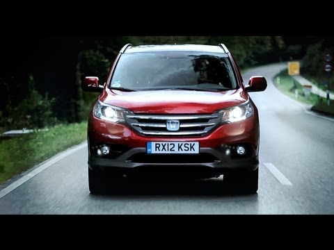 Honda CR-V Тест-драйв Honda CR-V 2013 // АвтоВести 84