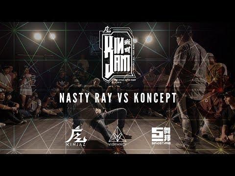 Nasty Ray Vs Koncept [TOP 16] | KINjam LA 2018 [@VIBRVNCY 4K] - Thời lượng: 4 phút, 1 giây.