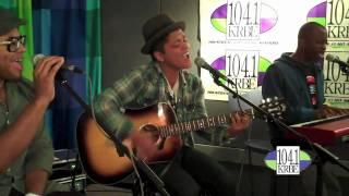 Bruno Mars Live @ Studio 104.1 KRBE