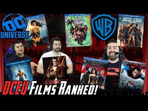 AJ's - ALL DCEU Films Ranked from WORST to BEST!